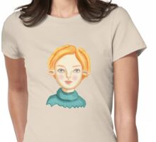 Helga The Blonde Elf Womens Fitted T-Shirt