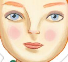 Helga The Blonde Elf Sticker