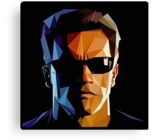 Terminator Triangulation Vector Canvas Print