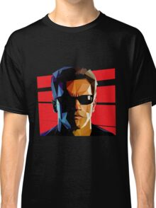 Terminator Triangulation Vector Classic T-Shirt