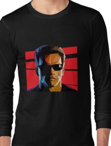 Terminator Triangulation Vector Long Sleeve T-Shirt