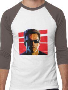 Terminator Triangulation Vector Men's Baseball ¾ T-Shirt