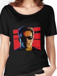 Terminator Triangulation Vector Women's Relaxed Fit T-Shirt