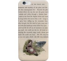 The Queen of Pirate Isle Bret Harte, Edmund Evans, Kate Greenaway 1886 0043 Hillside With Doll iPhone Case/Skin