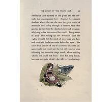The Queen of Pirate Isle Bret Harte, Edmund Evans, Kate Greenaway 1886 0043 Hillside With Doll Photographic Print