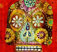 day of the dead - Flor Ojos by dayofthedeadart