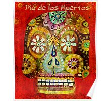 day of the dead - Flor Ojos Poster