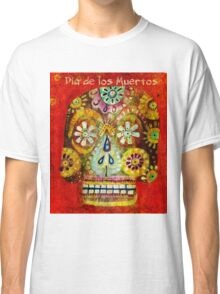 day of the dead - Flor Ojos Classic T-Shirt