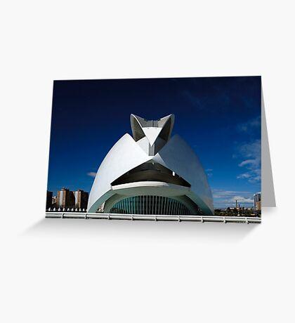 Palau De Les Arts - CAC At noon Greeting Card