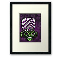Crazy Monkey ( Powerpuff Girls ) Framed Print