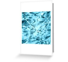 Cold Water Mosaic Greeting Card