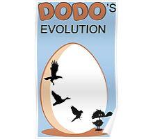 Dodo's Evolution Poster