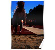 Long Jump-Athletics 2010 Poster