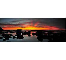 Sentinel Sunrise Photographic Print