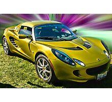Golden Lotus Photographic Print
