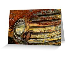 Art Of Corrosion Greeting Card