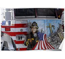 Firefighter Tribute Poster