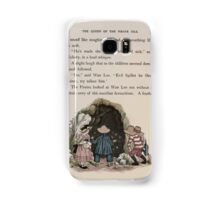 The Queen of Pirate Isle Bret Harte, Edmund Evans, Kate Greenaway 1886 0039 Cave Samsung Galaxy Case/Skin