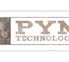 Ant-Man - Pym Technologies - Brown Dirty Sticker
