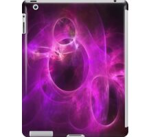 Purple Berry Circles 1 iPad Case/Skin