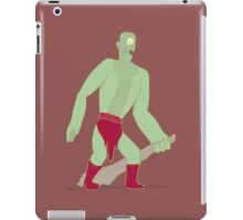Green Cyclops iPad Case/Skin