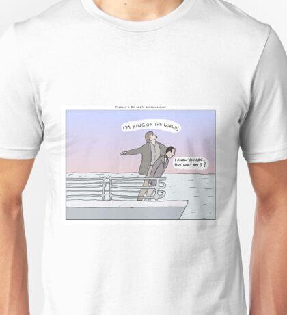 Titanic + Pee Wee's Big Adventure Unisex T-Shirt