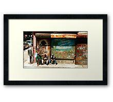 Harlem Kings Framed Print