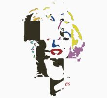 marilyn cubism by ralphyboy