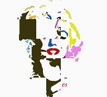marilyn cubism Womens Fitted T-Shirt