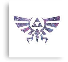 Abstract The Legend of Zelda Triforce Silhouette Canvas Print