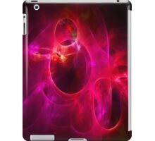 Red and Berry Circles 1 iPad Case/Skin