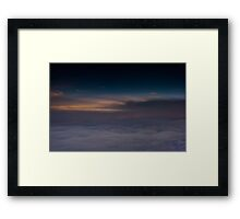 Far Above The Clouds Framed Print