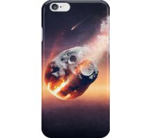 City destroyed by meteor shower iPhone Case/Skin
