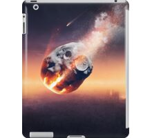 City destroyed by meteor shower iPad Case/Skin