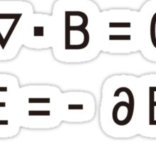 Maxwell's_Equations Sticker