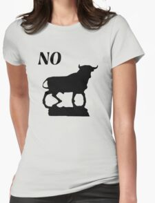 no bull Womens Fitted T-Shirt