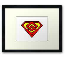 Super Sinapsis Framed Print