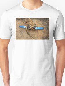Waiting - Boat Tie Cleat By Sharon Cummings T-Shirt