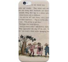 The Queen of Pirate Isle Bret Harte, Edmund Evans, Kate Greenaway 1886 0033 Slide Down iPhone Case/Skin