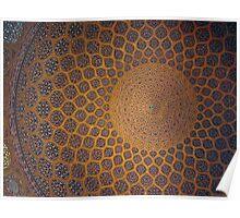 Sheikh Lotf Allah Mosque, Esfahan, Iran Poster