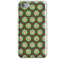 Polkadot Green and Brown iPhone Case/Skin