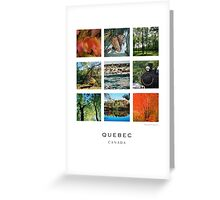 La Belle Province Greeting Card
