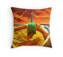 Moroccan Spices Throw Pillow