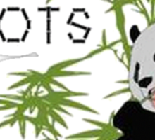 Eats, Shoots and Leaves Sticker