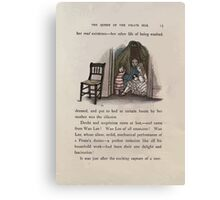 The Queen of Pirate Isle Bret Harte, Edmund Evans, Kate Greenaway 1886 0019 Hiding Canvas Print