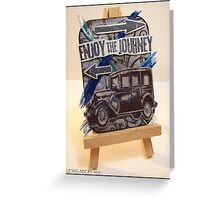 Enjoy the Journey ATC Greeting Card