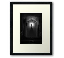 Mystery Doorway Framed Print