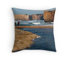 Sherbrooke Estuary Throw Pillow