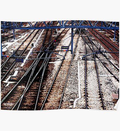 Traintracks Poster