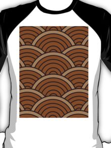 Brown Wave T-Shirt